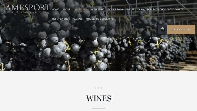 Enjoy Jamesport Wines At Home